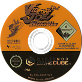 Viewtiful Joe: Red Hot Rumble GameCube disc (GVCP08)
