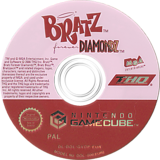 Bratz Forever Diamondz GameCube disc (GVDP78)