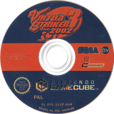 Virtua Striker 3 Ver. 2002 GameCube disc (GVSP8P)
