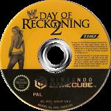 WWE Day of Reckoning 2 GameCube disc (GW2P78)