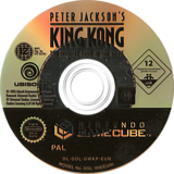 Peter Jackson's King Kong: The Official Game of the Movie GameCube disc (GWKP41)