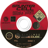 Tom Clancy's Splinter Cell: Double Agent GameCube disc (GWYX41)