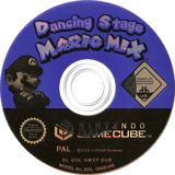 Dancing Stage Mario Mix GameCube disc (GWZP01)