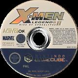 X-Men Legends II: Rise of Apocalypse GameCube disc (GX2P52)