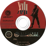 XIII GameCube disc (GX3P41)
