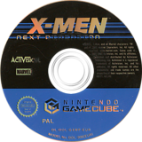 X-Men: Next Dimension GameCube disc (GXMP52)