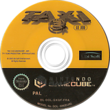 Taxi 3 GameCube disc (GXQF41)