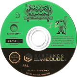 Harvest Moon: A Wonderful Life GameCube disc (GYWPE9)