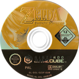 The Legend of Zelda: Twilight Princess GameCube disc (GZ2P01)