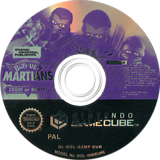 Butt-Ugly Martians Zoom or Doom GameCube disc (GZMP7D)