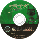 Zapper: One Wicked Cricket! GameCube disc (GZPP70)
