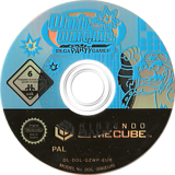 Wario Ware Inc.: Mega Party Game$! GameCube disc (GZWP01)