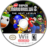 New Super Mario Bros. Wii 2: The Next Levels CUSTOM disc (PPNP01)