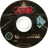 The Legend of Zelda: Collector's Edition GameCube disc (PZLP01)