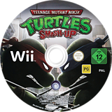 Teenage Mutant Ninja Turtles: Smash-Up Wii disc (R2TP41)