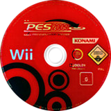 Pro Evolution Soccer 2009 Wii disc (R2WPA4)