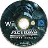 Metroid Prime: Trilogy Wii disc (R3MP01)