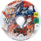 Guilty Gear XX Accent Core Plus Wii disc (R3NPH3)