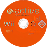 EA Sports Active: Personal Trainer Wii disc (R43P69)