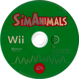 SimAnimals Wii disc (R4AP69)
