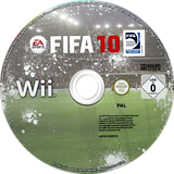 FIFA 10 Wii disc (R4RX69)
