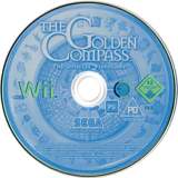 The Golden Compass Wii disc (R5AP8P)