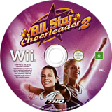 All Star Cheerleader 2 Wii disc (R5YP78)