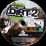 Colin McRae: DiRT 2 Wii disc (R69P36)