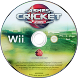 Ashes Cricket 2009 Wii disc (R6KP36)