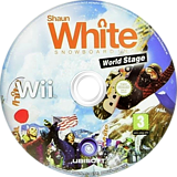 Shaun White Snowboarding: World Stage Wii disc (R6NY41)