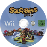 Squeeballs Party Wii disc (R6YPH3)
