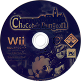Final Fantasy Fables: Chocobo's Dungeon Wii disc (R7FPGD)