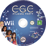 Charm Girls Club: Pyjama Party Wii disc (R7IP69)