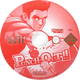 Punch-Out!! Wii disc (R7PP01)