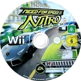 Need for Speed: Nitro Wii disc (R7XP69)