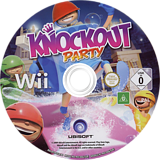 Knockout Party Wii disc (R7ZP41)