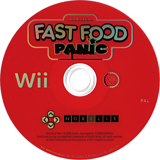 Fast Food Panic Wii disc (R8FPNP)