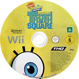SpongeBob's Truth or Square Wii disc (R8IP78)