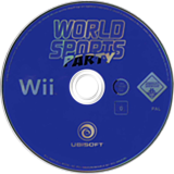 World Sports Party Wii disc (R8SP41)