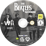 The Beatles: Rock Band Wii disc (R9JP69)