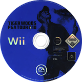 Tiger Woods PGA Tour 10 Wii disc (R9OP69)