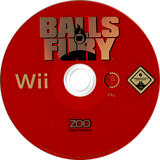 Balls of Fury Wii disc (RBFP7J)
