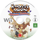 Harvest Moon: Animal Parade Wii disc (RBIP99)