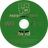 Ben 10: Protector of Earth Wii disc (RBNPG9)