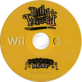 Billy the Wizard: Rocket Broomstick Racing Wii disc (RBZXUG)