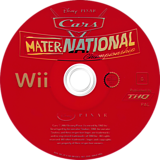 Cars: Mater-National Wii disc (RC2X78)