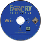 Far Cry: Vengeance Wii disc (RCVP41)