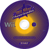 All Star Cheerleader Wii disc (RCXX78)
