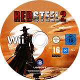 Red Steel 2 Wii disc (RD2P41)
