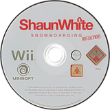 Shaun White Snowboarding: Road Trip Wii disc (RDFP41)